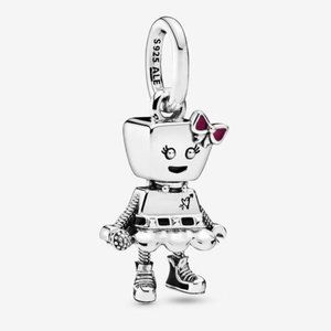 📿Pandora  Bella Bot Punk Band Dangle Charm